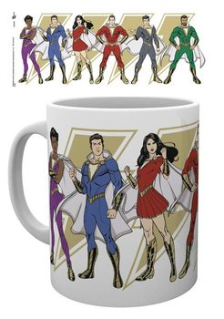 Shazam - Cartoon Characters Tasse
