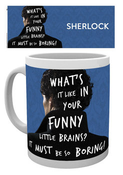 Sherlock - What's It Like Tasse