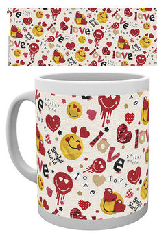 Smiley - Valentines Scrapbook Love Tasse