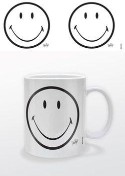 Smiley - White Tasse