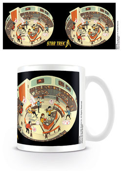 Star Trek: 50th Anniversary - Bridge Crew Tasse