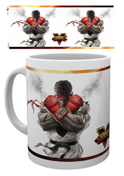 Street Fighter 5 - Key Art Tasse
