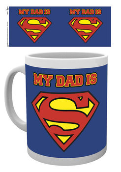 Superman - My Dad is Superdad Tasse