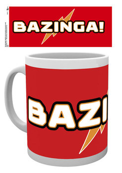 The Big Bang Theory -Bazinga Tasse