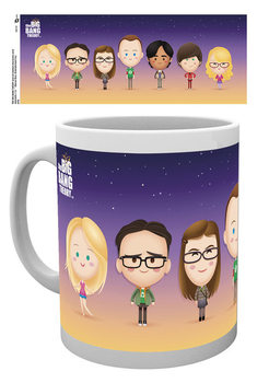 The Big Bang Theory -Characters Tasse