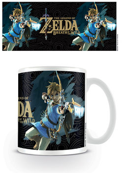 The Legend Of Zelda: Breath Of The Wild - Game Cover Tasse