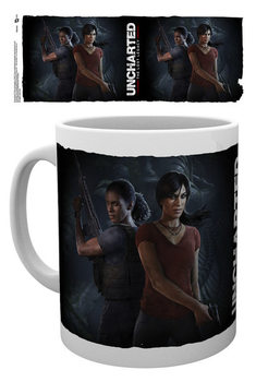 Uncharted: The Lost Legacy - Cover Tasse