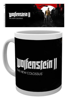 Wolfenstein 2 - Key Art Tasse