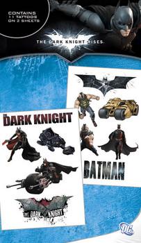 BATMAN DARK KNIGHT RISES Tatovering