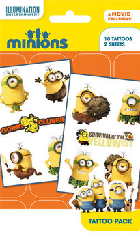 Minions (Grusomme mig) - Mix 2 Tatovering