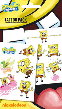SPONGEBOB 1 Tatovering
