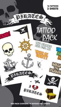 PIRATES 1 Tatuaggio