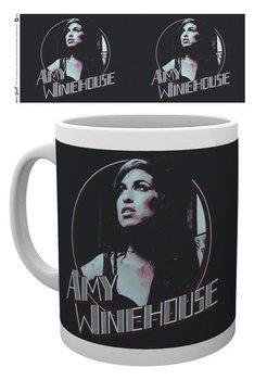 Taza Amy Winehouse - Retro Badge