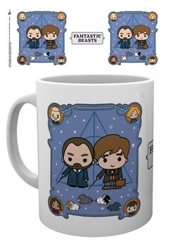 Taza  Animales fantásticos: Los crímenes de Grindelwald - Chibi Newt and Dumbledore