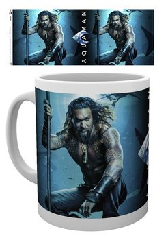 Taza  Aquaman - One Sheet
