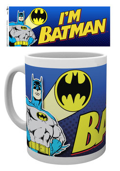 Taza  Batman Comic - I'm Batman Bold