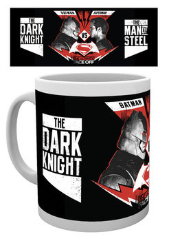 Taza  Batman v Superman: Dawn of Justice - Face Off