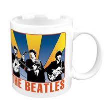 Taza  Beatles - Shine Behind