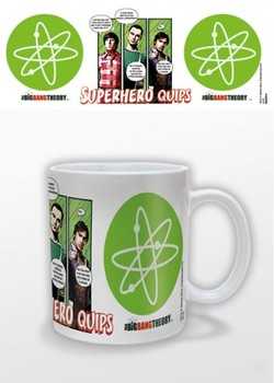 Taza Big Bang - Superhero Quips