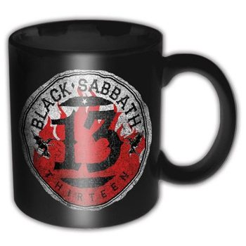 Taza Black Sabbath - 13 Flame Circle