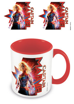 Taza  Captain Marvel - Earths Defender