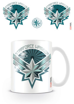 Taza  Captain Marvel - Starforce Warrior