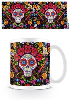 Taza  Coco - Embroidered Skull