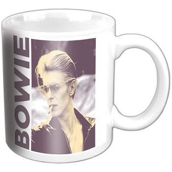 Taza  David Bowie - Smoking