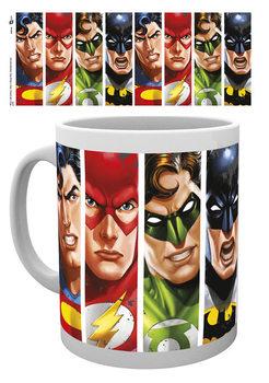 Taza DC Comics - Justice League Faces