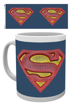 Taza DC Comics - Superman Mesh Logo