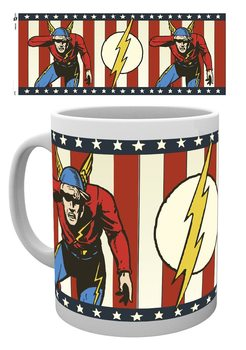 Taza DC Comics - The Flash Vintage