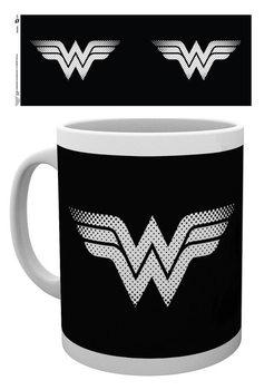 Taza DC Comics - Wonder Woman monotone logo