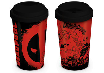Taza  Deadpool - Unicorn