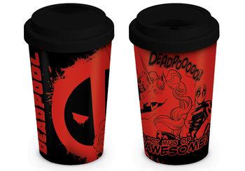 Taza  Deadpool - Unicorn