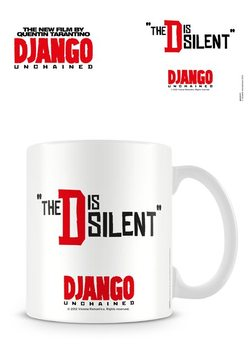 Taza  Django Unchained (Django desencadenado) - The D is silent