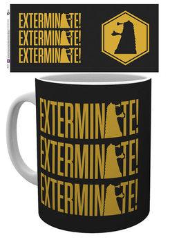 Taza Doctor Who - Exterminate