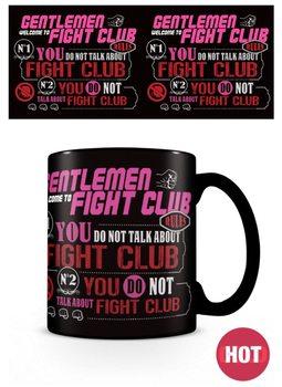 Taza El club de la lucha - Rules