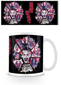 Taza  Escuadrón Suicida - Suicide Squad - Cracked