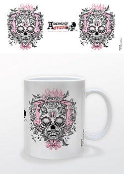 Taza  Fantasy - Amore Skull, Alchemy