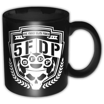 Taza  Five Finger Death Punch - Shield