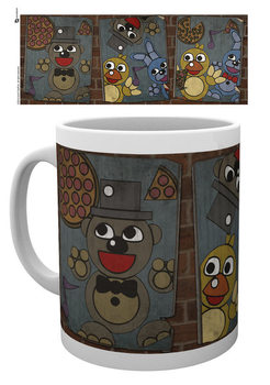 Taza  Five Nights At Freddy's - Vintage Posters