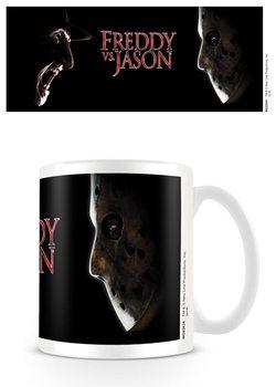 Taza  Freddy contra Jason - Face Off