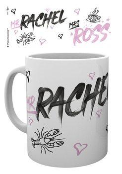 Taza Friends - Mr Rachel Mrs Ross