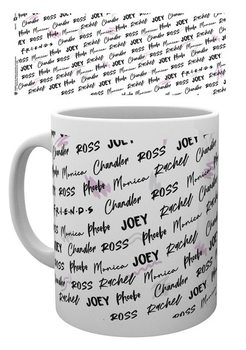 Taza Friends - Names