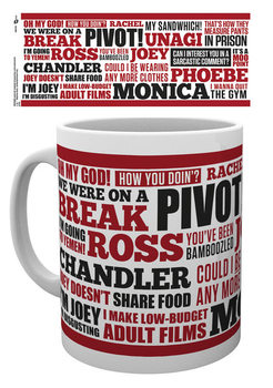 Taza Friends TV - Quotes