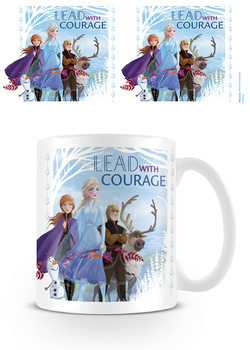 Taza Frozen, el reino del hielo 2 - Lead With Courage