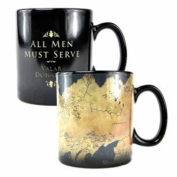 Taza  Game Of Thrones - Map