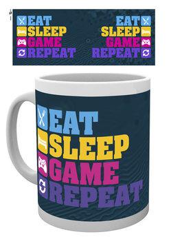 Taza Gaming - Eat Sleep