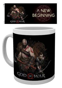 Taza  God Of War - New Beginning