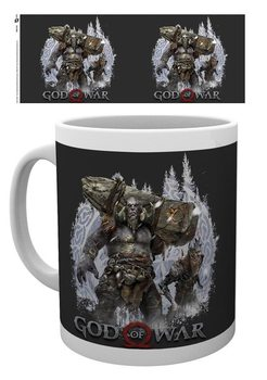 Taza God Of War - Troll and Draugr